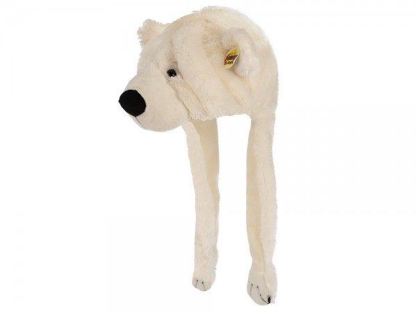 cappello orso bianco